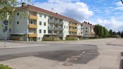 Flerbostadshus i tre våningar