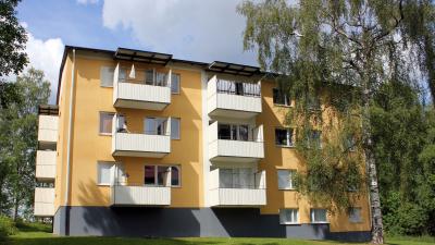 Hyreshus på Blomkransen med adress Kransgatan 7
