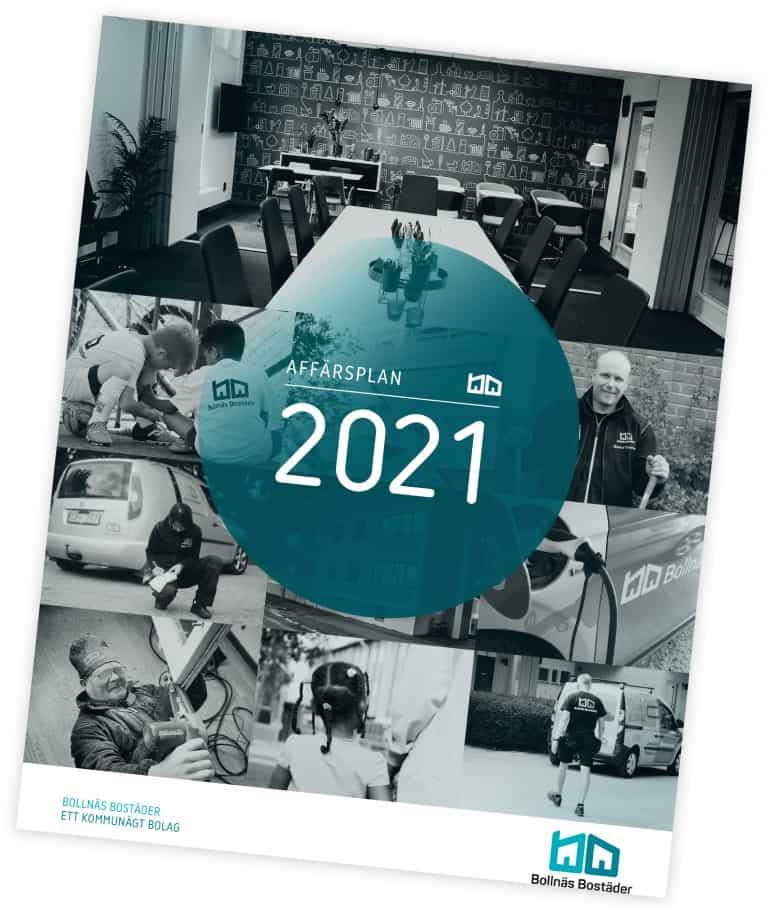 E-publikation av Bollnäs Bostäders affärsplan