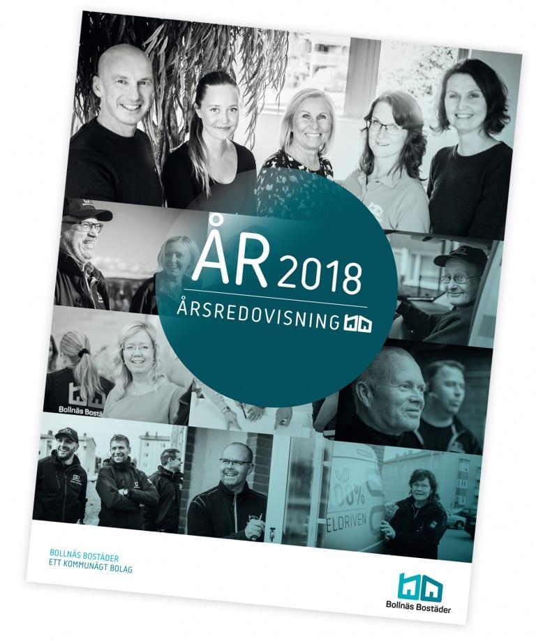 Bild på framsidan av Bollnäs Bostäders årsredovisning 2010