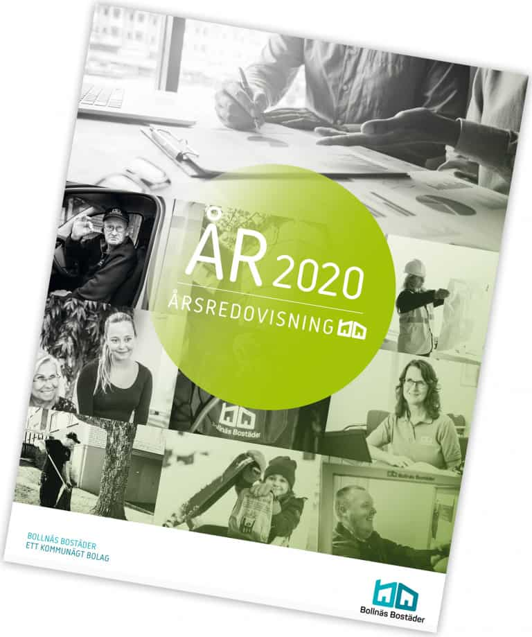 E-publikation av Bollnäs Bostäders Årsredovisning