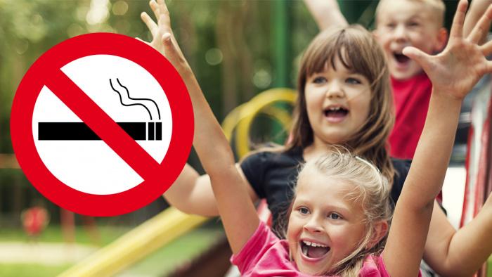 Förbud mot rökning på allmänna platser